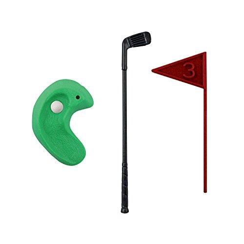 PME Golf Dekorationen/Kunststoff Zahlen, grün/rot/blau/weiß/schwarz, Set 13 - 8
