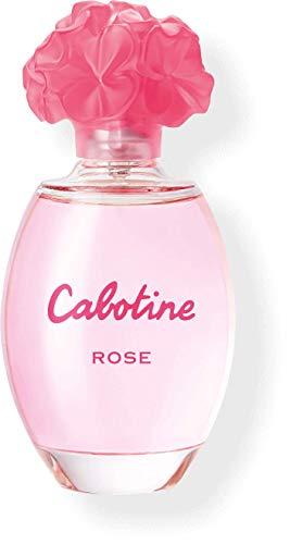 Perfumes de Mujer Original Cabotine Rose EDT EAU de Toilette 100 ml Agua de Tocador Fragancia Colonia duradera Oferta Regalo Cumpleaños Joven Fresca (Gres Rose EDT, 100 ml)
