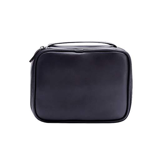 CXSTWIN Neceser de viaje portátil multifunción para organizadores de tiras, bolsa de aseo grande con asa y divisor, caja impermeable para artículos de tocador para mujeres