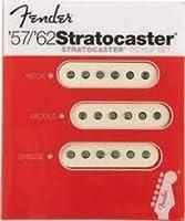 Fender '57/'62 Strat Single Coil pickup set フェンダー シングルコイル ギター用 ピックアップセット 『並行輸入品』