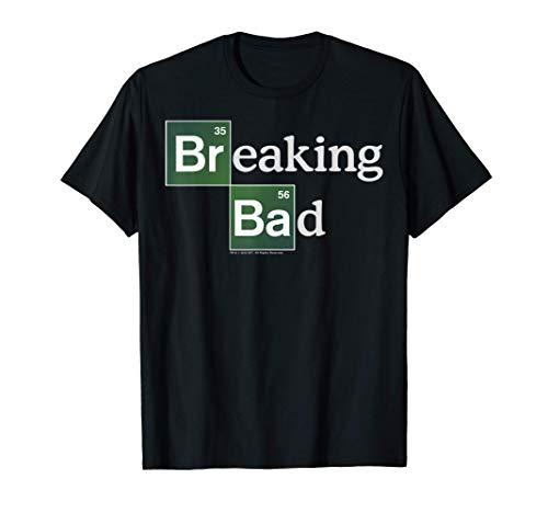Breaking Bad Periodic Square Logo Maglietta
