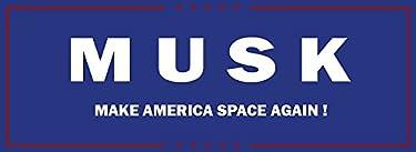 "MAGNET Elon Musk Presidential Campaign Magnet Decal Fridge Metal Magnet Window Vinyl 5"""