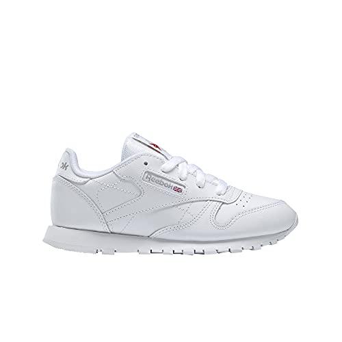 Reebok Classic Leather, Zapatillas de Running Niños, Blanco (White), 36 EU