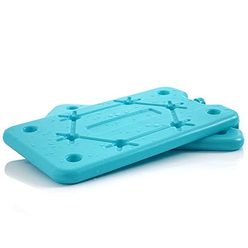 CampFeuer - Pain de glace pour sac isotherme, 2 x 400ml