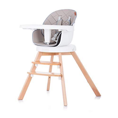 Chipolino 3-in-1 Rotto, kinderstoel, draaibare zitting, in hoogte verstelbaar beige