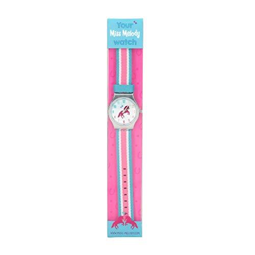 Depesche Miss Melody spritzwassergeschützte Armbanduhr (1 Stück, Miss Melody Blau)