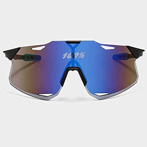 ACJB Gafas de Sol Deportivas, para Hombres Mujeres MTB Gafas Sport Gafas de Sol Sombras