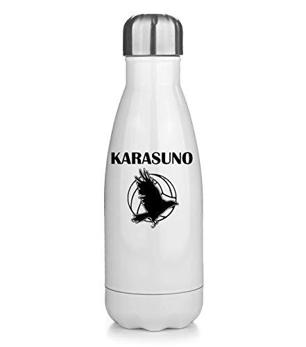 NoMoreFamous Karasuno Haikyuu Volleyball Team Thermos Flask Bottle Water Bottle Stainless Steel Vacuum