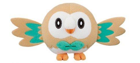 Pokemon Sun & Moon - Rowlet Mokuro Plush toys