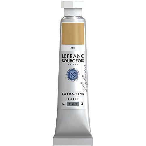 Lefranc & Bourgeois–Pintura al óleo, Dorado, 2,9 x 1,9 x 10,3 cm
