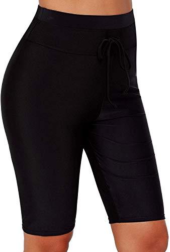 HOLYSNOW - Pantalones cortos natación mujer, color