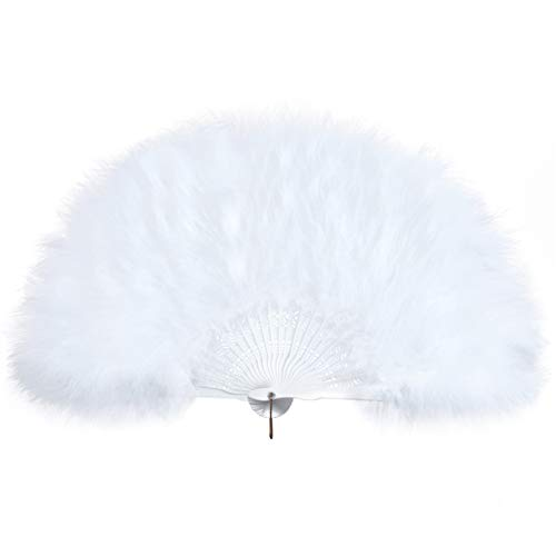 small feather fans - 7