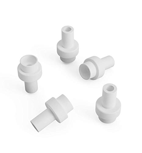 5 pezzi di ricambio in teflon PTFE adatto per Ultimaker 2 accoppiatori 3 mm Hotend Coupler ricambio adatto anche per Ultimaker 2+ e Ultimaker 2+ Extended UM2+ Um2 stampante 3D