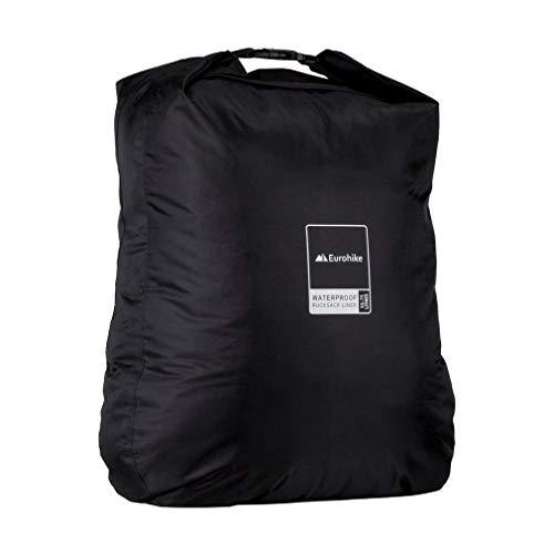 Eurohike Waterproof Rucksack Liner 55-75L, Black, One Size