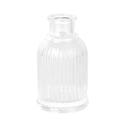 PRETYZOOM - Jarrón de cristal rústico creativo mini jarrón de boda, decoración...