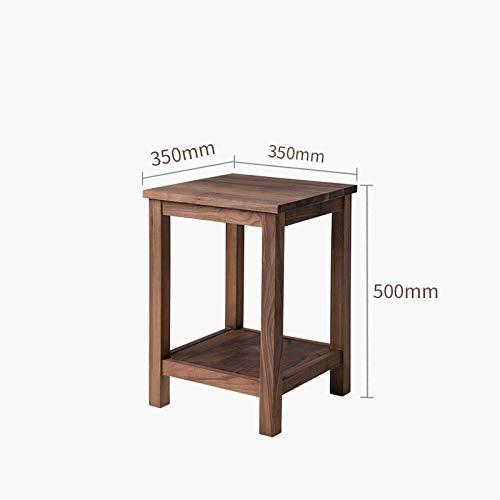 Zwevende Planken,Houten Decoratieve,Zwevende Plank Tv-Componenten,Garage/Schuur/Magazijn/Vrijstaande Opslagplanken,Massief Houten Rek-Perzikhout 350 * 350 * 500 Mm