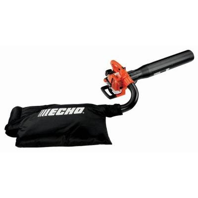 Echo Leaf Blower 3-in-1 Features Blower, Shredder and Vacuum with 391 CFM and 165 MPH Performance, Great for Removing Leaves and Other Yard Debris