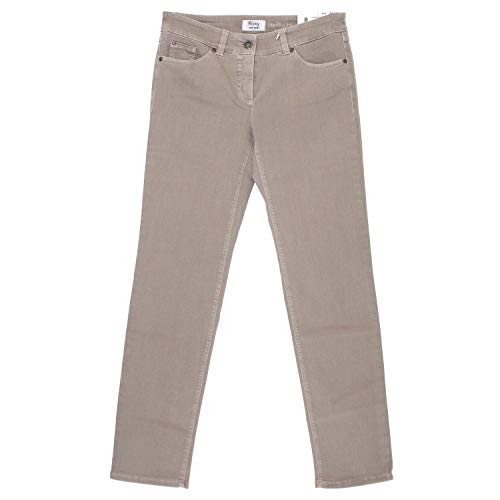 Gerry Weber Damen Roxy Slim Jeans, Beige (Sand), 48W x 32L
