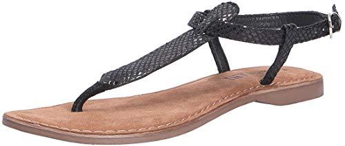Lazamani Dames sandaal zwart