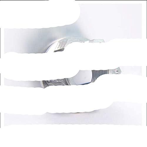 1 / pcsTuercas de brida de aleación de titanio M16P1.5 M18P1.5 M20P1.5 tuerca de motocicleta GR5 material-M16 Plata