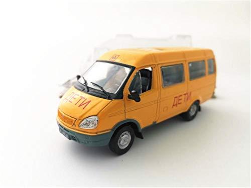 THKZH 1/43 Russland Lettland 322121 Schulbuswagen Pkw-Bus Nutzfahrzeugmodelldiecast Autos,Oldtimer Modellautos,Automodelle Für Erwachsene,Sammlung Modellautos,