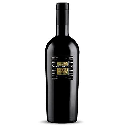 Imperiale - Cantine San Marzano Primitivo di Manduria - Sessantanni 2017 in der XXXL-Methusalemflasche mit Holzkiste (1 x 6 l)