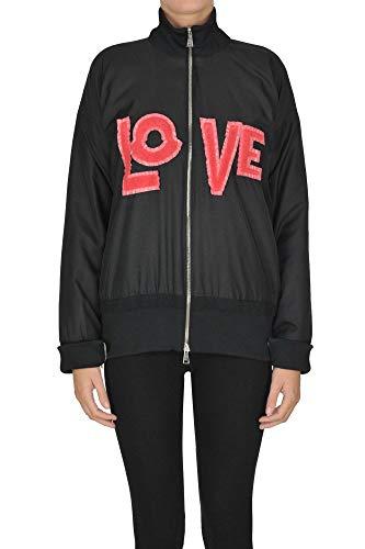 Luxury Fashion | Moncler Dames MCGLCSP0000A7002E Zwart Synthetische Vezels Outerwear Jassen | Seizoen Outlet