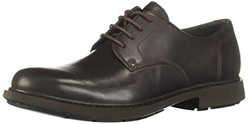 Camper Neuman Zapatos Oxford, Hombre, Marrón (Dark Brown 200), 43