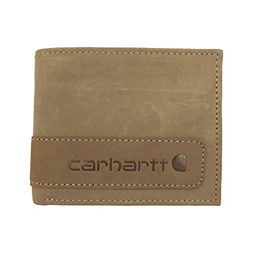 Carhartt Portemonnaie Two Tone Billfold Wallet Brown