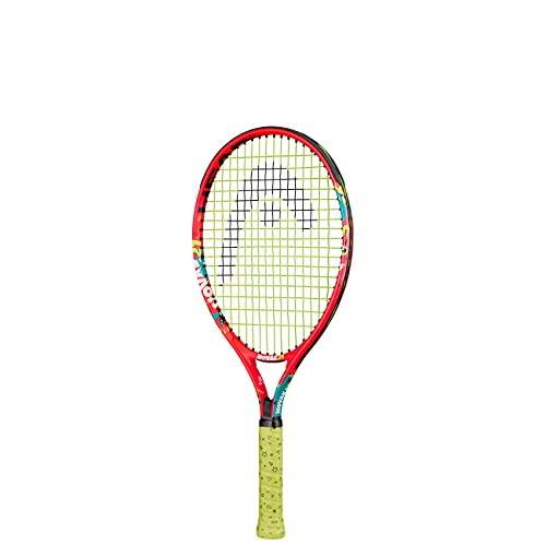 HEAD Unisex Jugend Novak 21 Tennis Racket, mehrfarbig, 4-6 Jahre