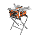 RIDGID 15 Amp Corded 10 in. Compact Table Saw with Carbide Tipped Blade and Folding X-Stand-R45171 - The Home Depot