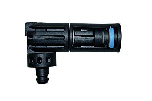 Nilfisk 6411138 Boquilla de múltiples ángulos hidrolimpiadoras de Alta presión, Negro, 4 x 4 x 15 cm
