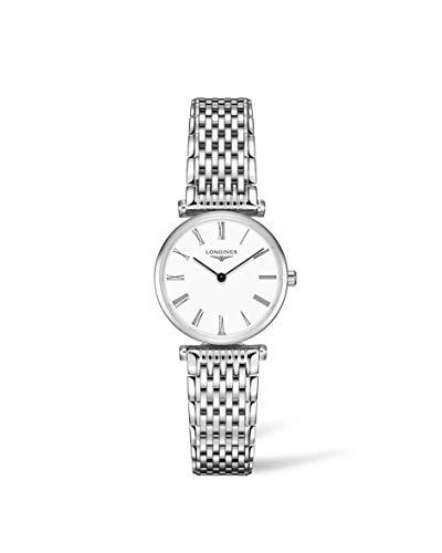 Longines L42094116 - Reloj para Mujeres, Correa de Acero