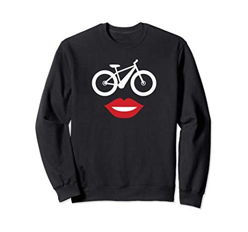 Ebike Mom Happy Face E-bike for Mom Sweatshirt