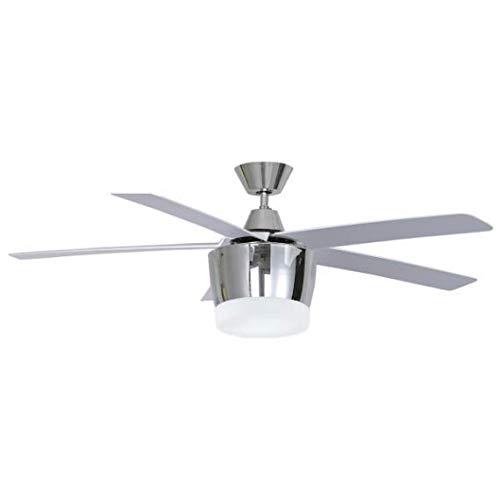 Nuevo ventilador BALI cromo con mando a distancia de Fabrilamp.