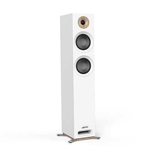 Jamo S 807 W PAR 200W Weiß - Lautsprecher (Verkabelt, 200 W, 42-26000 Hz, 8 Ohm, Weiß)