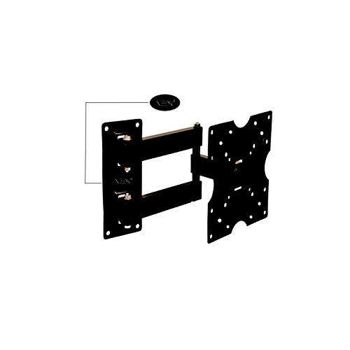 NEX Heavy Duty Wall & Ceiling Mounts for 14 to 44 inch LED/LCD TV (Black)