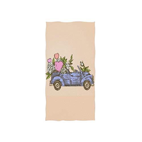 SZBNIZAINAOI Toallas de mano para coche, suaves, muy absorbentes, grandes, 39,9 x 69,8 cm, toallas de baño, multiprupose para mano, cara, baño, gimnasio, hotel, spa
