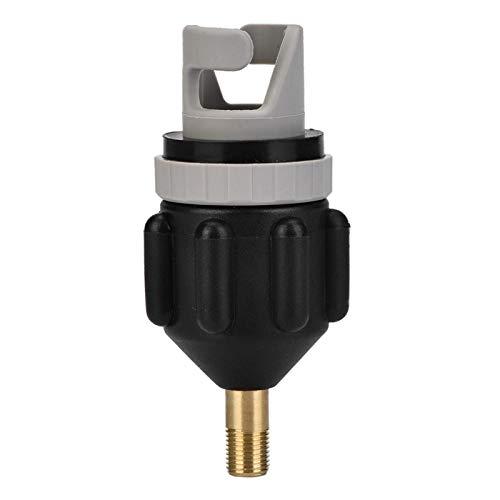 Kuuleyn Adaptador Inflable para Barco, Adaptador para Bomba Sup para Barco Inflable con Accesorio de válvula de Aire Convencional estándar