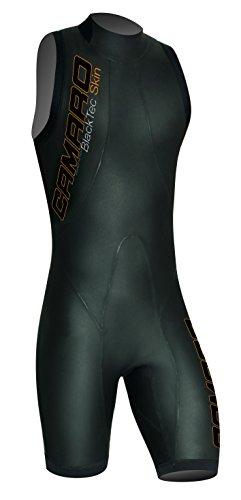 Camaro Herren Schwimmshorty Blacktec Skin Speed, Schwarz, 52