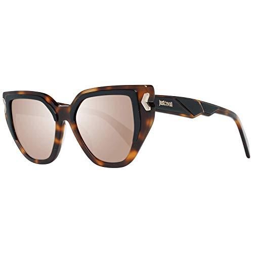Just Cavalli JC835S 56C 51 Gafas de sol, Marrón (Avana), Unisex Adulto