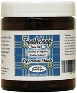 Tooth Soap Shreds Peppermint -- 4 oz by Tooth Soap?