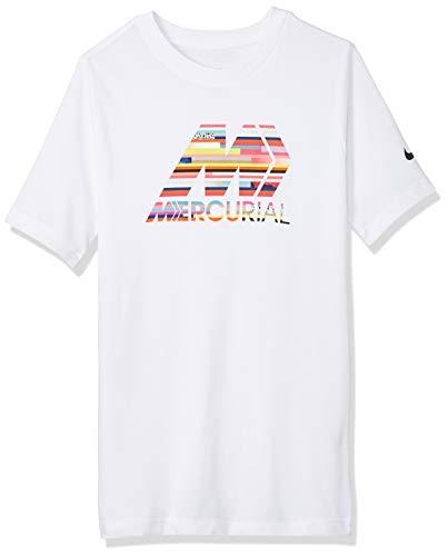 Nike Merc B Nk Dry Tee Tshirt, Bambino, Bianco, M