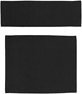 Upone Replacement Cover Canvas for Directors Chairs Casual Home Director Chair Replacement Canvas, Black, Red, White, Gray,Blue (Black)