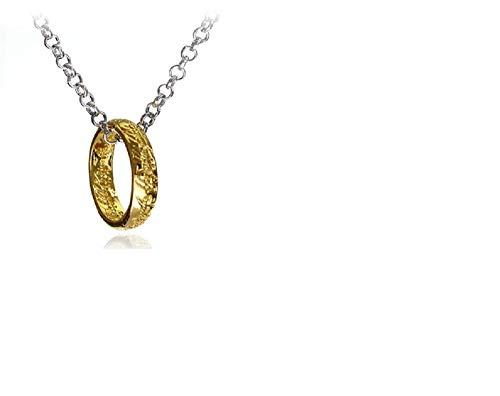 posh presenteert LOTR Lord of The Rings De Een Ring Ketting Hobbit Ketting Hanger Cosplay Sieraden