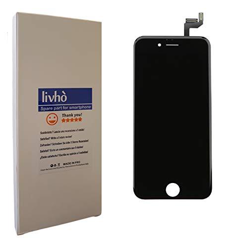 livhò® Scherm LCD Zwart compatibel met iPhone 6S / Display LCD + Touchscreen