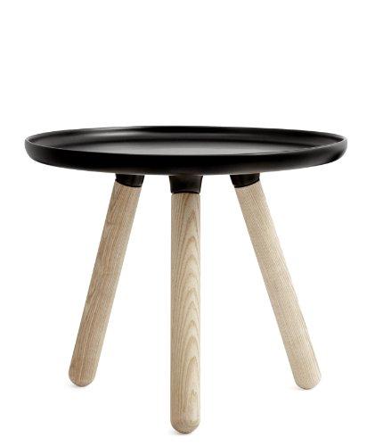 Normann Copenhagen - Table Basse Tablo Small Ø 50 Cmnoir - Noir
