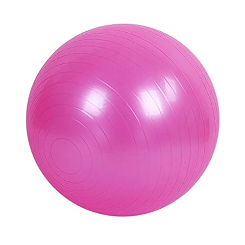 Daytwork Pelota de yoga para gimnasio, pelota de yoga, antiestallido, con bomba rápida, bola de parto para yoga, pilates, fitness, embarazo de trabajo, 25/45/55/65/75/85 cm