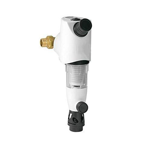 Ritzer by SYR Hauswasserstation Rückspülfilter mit Druckminderer und Manometer inklusive Anschluss-Set, HWS, Wasserfilter (1 Zoll)