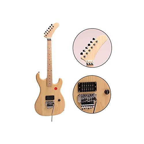 ZUWEI DIY Electric Guitar Kits 5150 - Alder Body, Humbuckers Pickups, Maple Neck,...